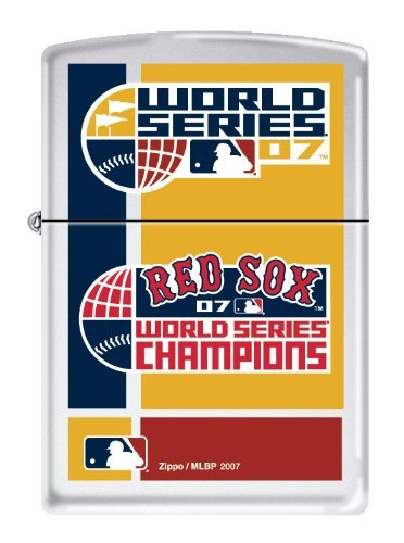 Zippo MLB 2007 Baseball World Series Champions Boston Red Sox (Red Sox Zippo Lighter)