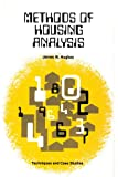 Methods of Housing Analysis : Techniques and Case Studies, Richard K. Brail, 0882850393