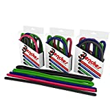 Bendies- The Universal Tie! 5 pack (3- 17 inch, 2- 34 inch) Bend-Twist-Turn-Wrap & Secure?Endless Uses Indoors and Outdoors?Reusable?Easy to Handle?Colorful?Loads of Fun! Review