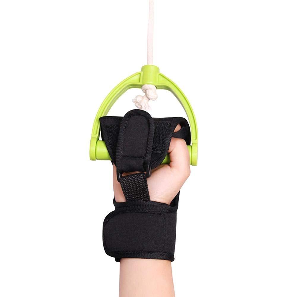 Rehabilitation Assistant Finger Exercise Training Glove Rehabilitation Aid Glove Resuscitation Exercise Equipment Suitable for Elderly Stroke Hemiplegia 1PC
