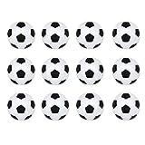 Silfrae Mini Foosball Replacement Balls, Table Soccer Ball 32mm/36mm Set of 12 PCS