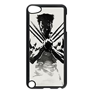 iPod Touch 5 Phone Case Black Wolverine HDS348244