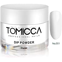 TOMICCA Dipping Powder for nails 2 Ounce (White)