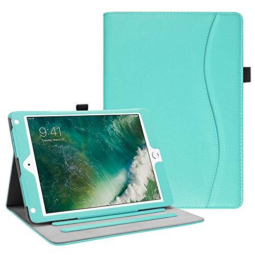 کیف پلاستیکی - چرمی Fintie برای آی پد ۹/۷ اینچی اپل مدل iPad Air 1&2 نسل ۵ و ۶ (۲۰۱۷ و ۲۰۱۸)