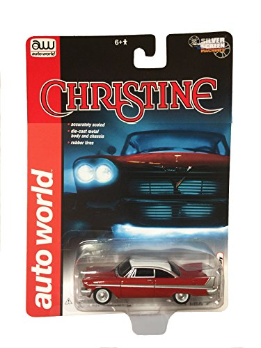 Stephen King's Christine 1/64 Scale 1958 Plymouth Fury Silver Screen Machines (Christine Model Car compare prices)