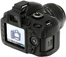 Walimex Pro EasyCover - Carcasa para Nikon D3200, Negro: Amazon.es ...