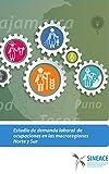 Estudio de demanda laboral de ocupaciones en las macroregiones Norte y Sur (Spanish Edition)