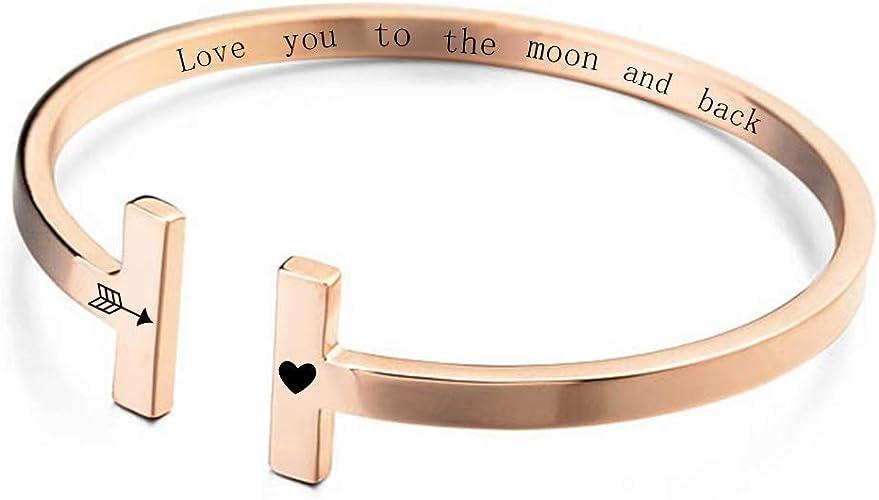 Idea Friend Bracelet Custom Name Bracelet Name Cuff Bracelet Stamped Silver Name Cuff