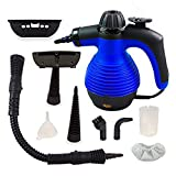 UPGR BLUE Comforday Handheld Steam Cleaner, HIGH PRESSURE Chemical Free Steamer for Bathroom