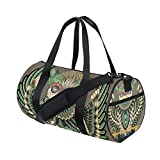Native American Indian Art Prints Sports Duffel Bags, Travel Gym Fitness Bag