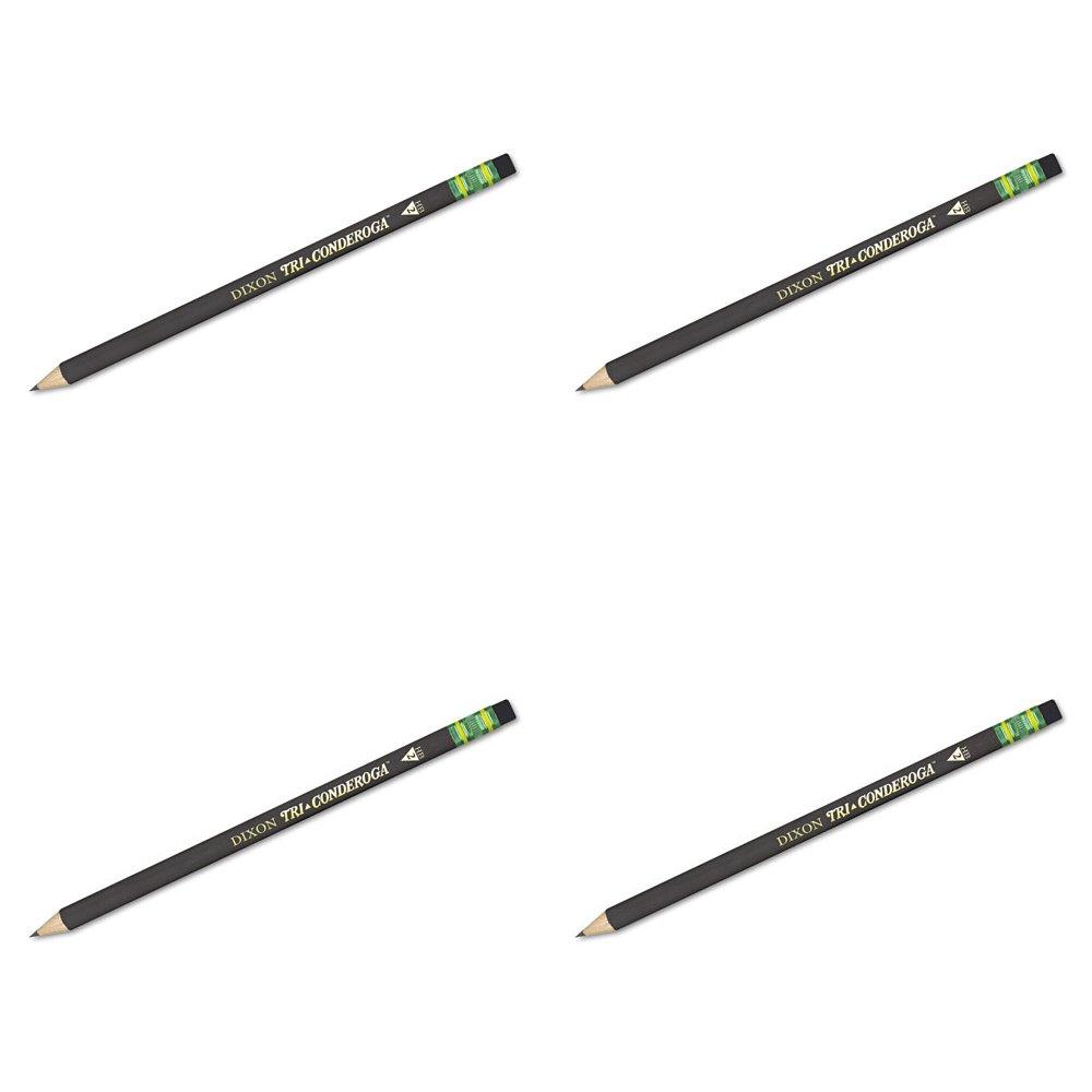 amazon com dixon tri conderoga triangular 2 pencils wood cased