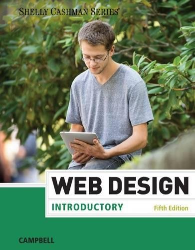 Web Design: Introductory (Shelly Cashman Series)