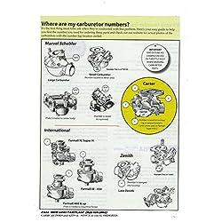 Carburetor kit John Deere M MT 40 320 330 420 430