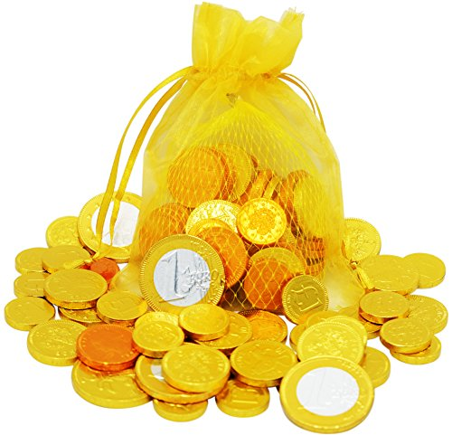 Chanukah Chocolate - Chanukkah Gelt - 32 European Chocolate Coins - OU-D (Gelt Coins)