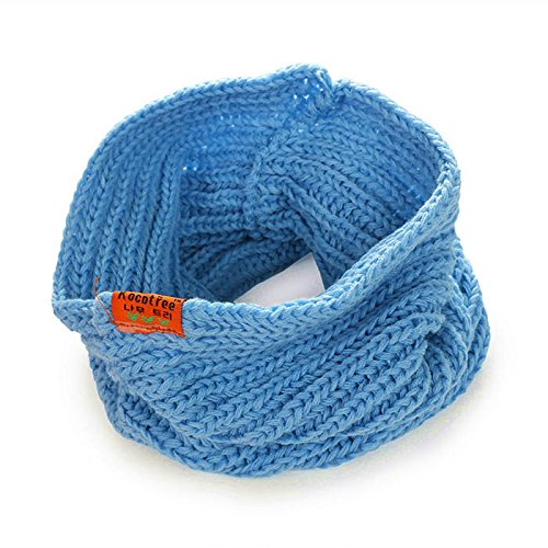 S Cloth Retail Children'S Kids Muffler Baby Boy /Girl Warm Scarf Candy Color Boy /Girl Knitted O Ring Scarf