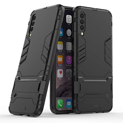 Case for Galaxy A50 DWaybox 2 in 1 Hybrid Heavy Duty Armor Hard Back Case Cover with Kickstand Compatible with Samsung Galaxy A50 SM-A505 6.4 Inch ...