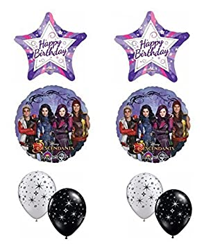 Disney The Descendants Happy Birthday Balloon Bouquet by Anagram