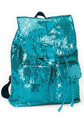 Urban Groove Sequin Dance Bag Cheer Gymnastics Pageant Travel Backpack Peacock ONE SIZE -