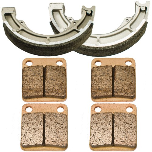 2002-2007 Suzuki LT-F 400 Eiger 4WD Front and Rear Brake Pads Shoes 2003 Suzuki Atvs