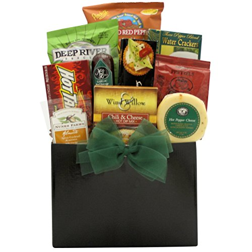 GreatArrivals Gift Baskets Happy Father's Day, Hot and Spicy, Gourmet Gift Basket, 4 (Greatarrivals Fathers Day)