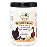 Fresh Eggs Daily Brewer's Yeast with Garlic Powder Chicken & Duck Feed Supplement 1LB