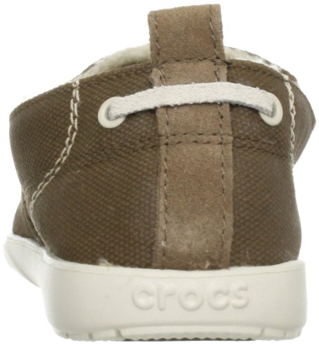 Crocs Heren Walu Lounger Moc Teen Loafer Schoenen Russet / Stucwerk