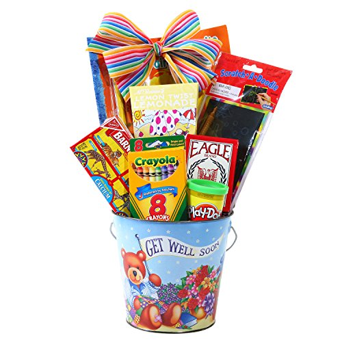 (Kid's Get Well Soon Gift Pail)