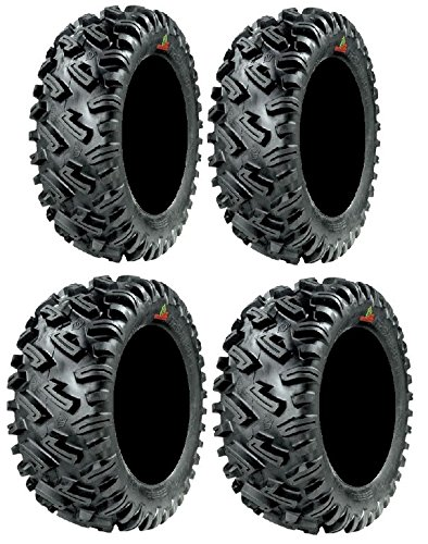 Full set of GBC Dirt Commander (8ply) 27x9-12 and 27x11-12 ATV Tires (4)