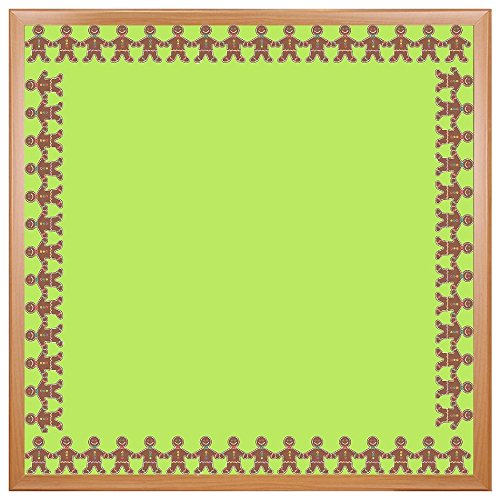 Hygloss Products Gingerbread Men Die-Cut Bulletin Board Border - Classroom Decoration - 3 x 36 Inch, 12 Pack -