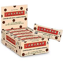 Larabar Gluten Free Bar, Chocolate Chip Cookie Dough, 1.6 oz Bars (16 Count)