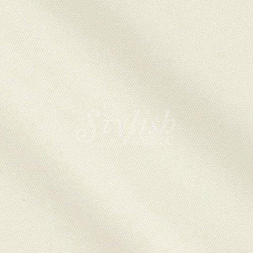 Ivory Solid Poly Poplin Fabric by the Bolt - 100 Yards (Wholesale Price) by Stylishfabric   B00QXR1SX2