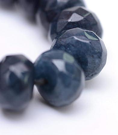 Moteado Azul Y Verde Teñido Ágata Piedras Preciosas Perlas Grado B 10mm B28635 4 un