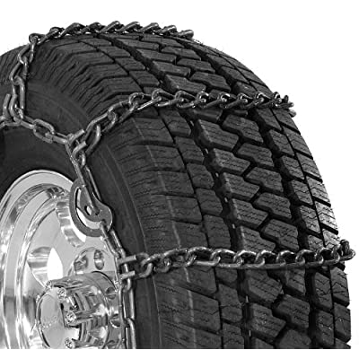 Security Chain Company QG3229CAM Quik Grip Wide Base Type CAM-DH Light Truck Tire Traction Chain - Set of 2: Automotive