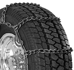 Security Chain Company QG3210CAM Quik Grip Wide Base Type CAM-DH Light Truck Tire Traction Chain - Set of 2