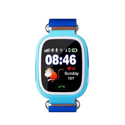 Amazon.com : GGOII Smart Wristband Child GPS Smart Watch Q90 ...