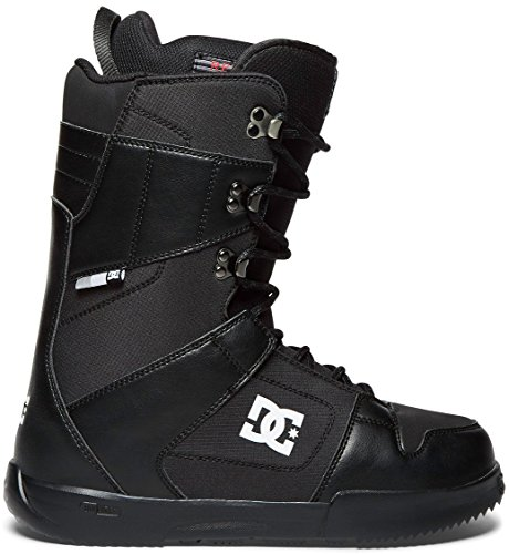 DC Men's Phase Lace Up Snowboard Boots, 11, Black