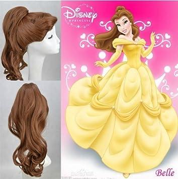 [Esencia Web] Peluca de Disney La Bella y la bestia (pelicula de animacioen
