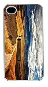 brand newcases tuscany landscape PC White Case for iphone 4/4S
