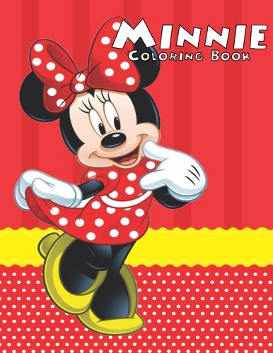 Minnie Coloring Book: Coloring Book for Kids and Adults, Activity Book, Great Starter Book for Children (Coloring Book for Adults Relaxation and for Kids Ages -