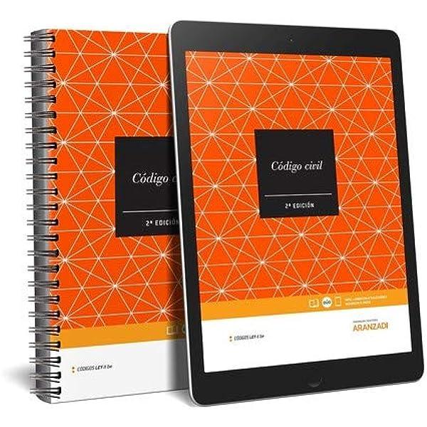 Código Civil LeyItBe Papel + e-book Código Básico: Amazon.es: Aranzadi, Departamento de Contenidos: Libros