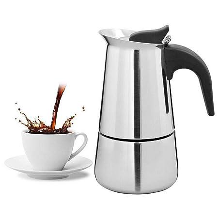 Moka Pot, MMKICC Cafetera espresso portátil Moka Pot ...