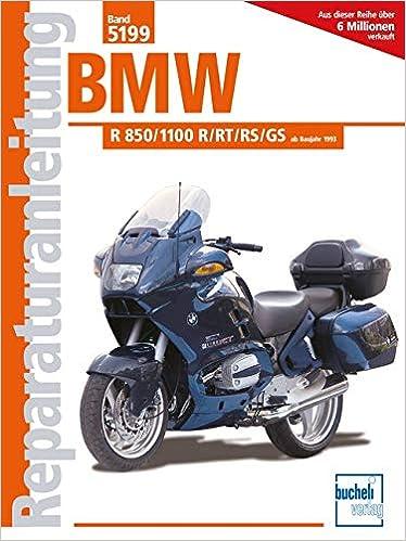 Anleitungen & Handbcher WERKSTATTHANDBUCH BMW R1100 RT RS GS R850 ...