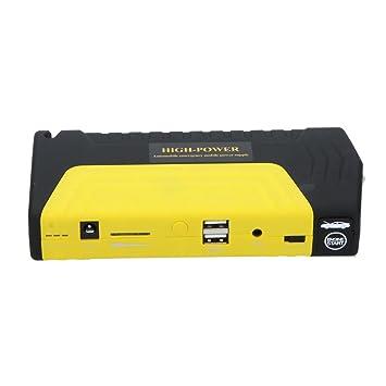 KKMOON 16800mAh Multi-Función Portátil Mini Jump Starter del coche con Auto Air Compressor Caja