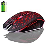 Lary intel 2.4GHz Wireless 7D Rechargeable 2400DPI 6 Buttons Optical Usb Gaming Mouse