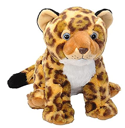 e0c54989 Wild Republic Jaguar Cub Plush, Stuffed Animal, Plush Toy, Gifts for Kids,  Cuddlekins 12 Inches