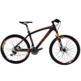 BEIOU® Carbon Fiber Mountain Bike Hardtail MTB 10.65 kg SHIMANO M610 DEORE 30 Speed Ultralight Frame RT 26-Inch Professional Internal Cable Routing Toray T800 Carbon Hubs Matte CB024C17X