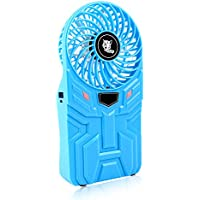 Mcrety 10400mA Power Bank Fan, Portable Rechargeable Handheld Design,10-30 Hours Working Time,Muti-functional Strong Wind Fan with 4 Adjustable Speed for Camping,Hiking,Traveling and Adventure