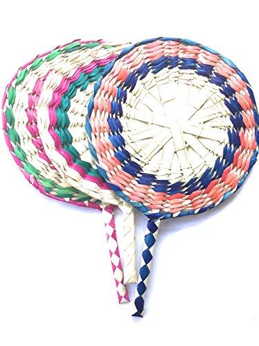 Handmade Straw Fan from Mexico (3)
