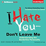 Bargain Audio Book - I Hate You   Don t Leave Me