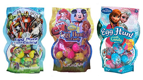 Disney Candy Filled Easter Egg Hunt Assortment Fea…